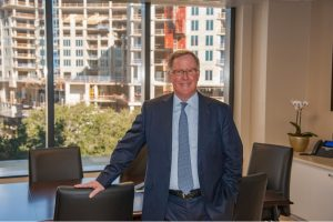 John Hart heads up Sarasota Private Trust Co. It was formed late last year and began targeting new clients in early 2019. Photo by: LORI SAX